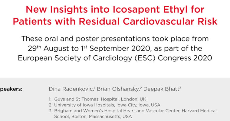 New Insights into Icosapent Ethyl for Patients with Residual Cardiovascular Risk
